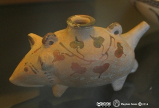 Αγγείο με μορφή ποντικιού. 450 π.Χ.