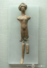 Πλαγγόνα-Νευρόσπαστο. Αρχαιολογικό Μουσείο της Χαλκίδας