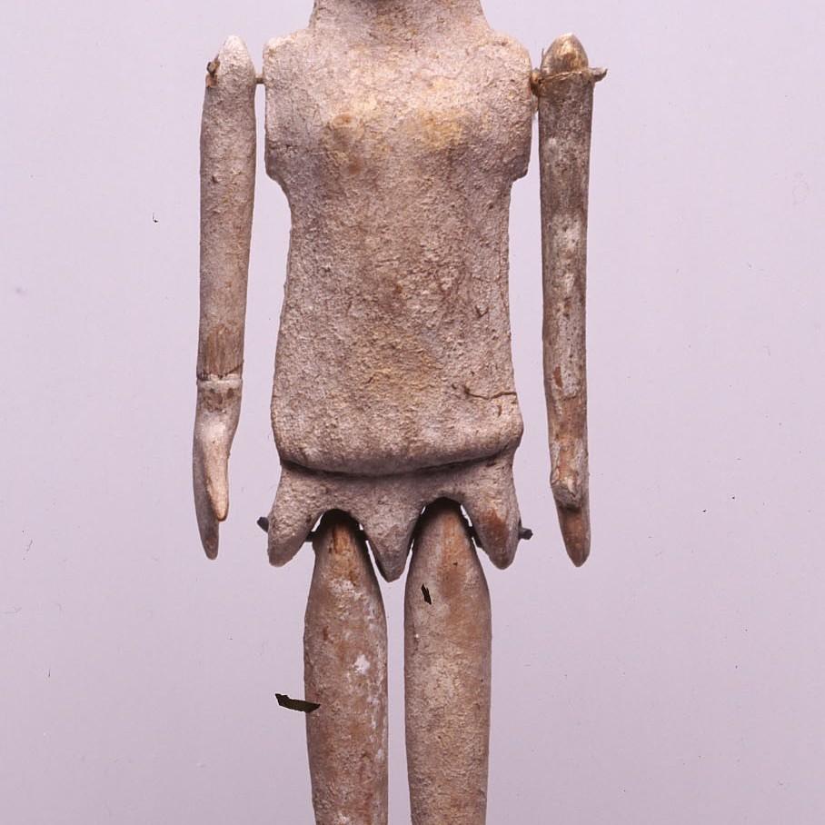 Ancient greek doll Plaggona 490 BC. Πλαγγόνα (κούκλα)
