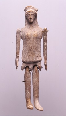 Ancient greek doll Plaggona 490 BC. Πλαγγόνα (κούκλα)