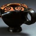 Baby bottle. 430-425 BC. Μελαμβαφές θήλαστρο 430-425 π.Χ.