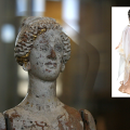 ancient greek doll and barbie