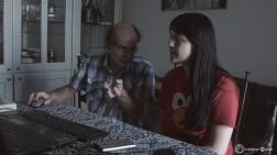 """Με τον κο. De Pascalis, εκδότης της εφημερίδας """"η Σπίθα"""" στα Γκρίκο"""