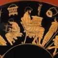 Σκηνές από την εκπαίδευση στην Αρχαία Αθήνα, Staatliche Museum, Berlin.