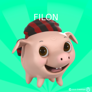 Φίλωνας το γουρουνάκι - Philon Pig