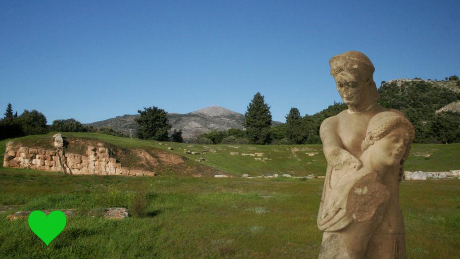 Ερέτρια αρχαίο θέατρο - Eretria ancient greek theatre
