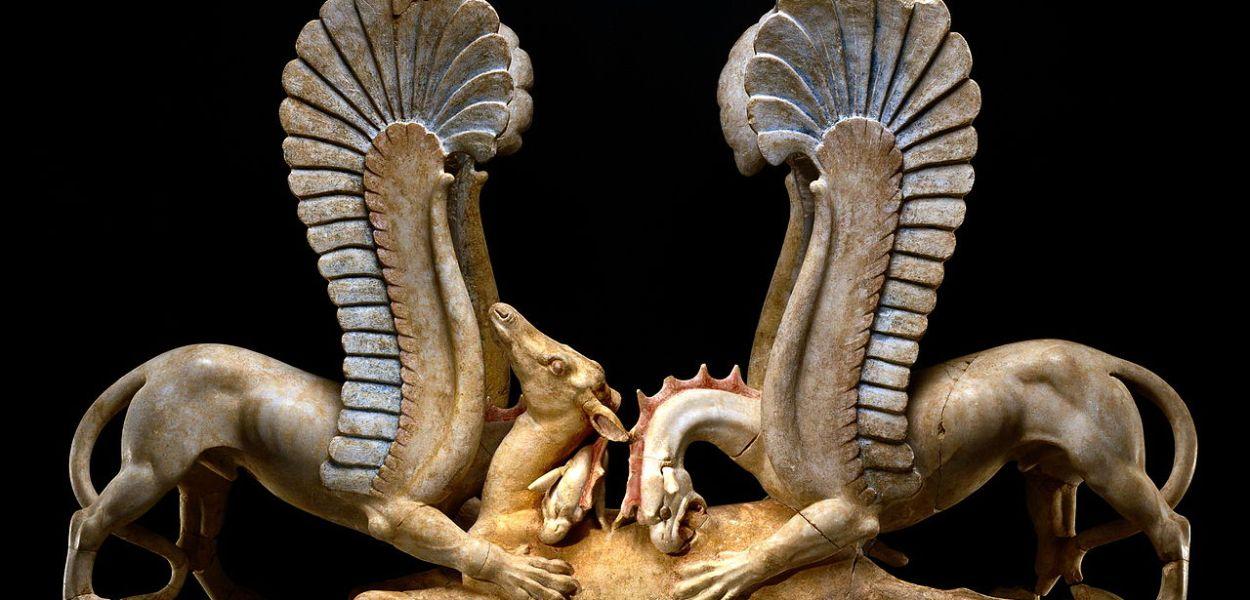 trapezophoros grifoni