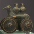 greek clay horses - αρχαίο πήλινο αλογάκι