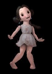 Bambolina ancient greek doll