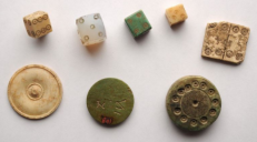 Ancient Dice and yo-yo Museum Teatro alla Scala