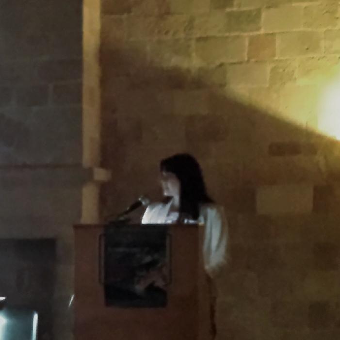Παρουσίαση στο Πανεπιστήμιο Αιγαίου