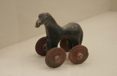 ancient toy horse