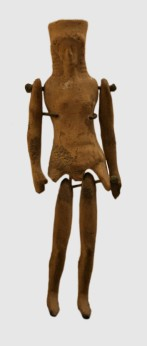 ancient corinthian doll plaggona