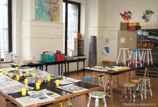 Cinquantenaire museum workshop