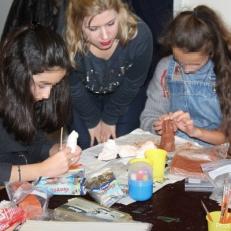 Εργαστήριο στο μουσείο Cinquantenaire στις Βρυξέλλες