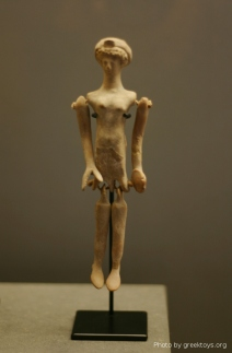 Ancient doll (plangon), hellenistic period, IV-III BC,