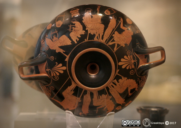 Education in Ancient Greece. Douris's school cup