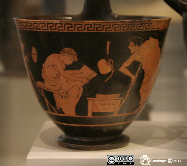 ancient kyathos education in ancient greece