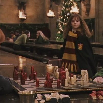 Lewis chessmen in harry potter